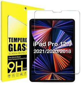 Tempered Glass Screen Protector For Apple iPad Pro 2021 12.9 inch 5th Generation