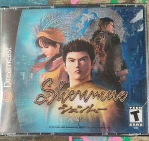 Shenmue (Dreamcast, 2000) 4 Disk With Booklet Tested Works