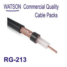 Coax RG-213 Cable Pack 20m Length