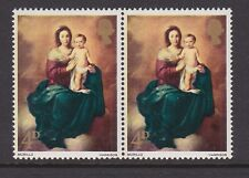 GREAT BRITAIN 1967 4d XMAS WITH 'BROWN FLAW' SG W128 MNH.