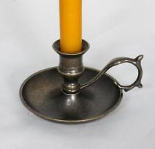 candelabro candeliere da comodino PORTACANDELA Gründerzeit ANTICO VECCHIO