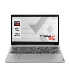 Lenovo Notebook PC Portatile 15.6in (SSD 256 GB, AMD A4, 2,6 GHz, RAM 8GB) Windows 10 Pro