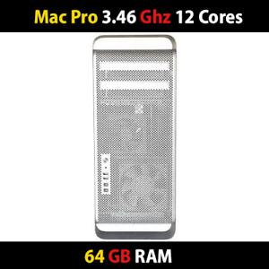 Apple | Mac Pro 3.46Ghz 12-Cores |  64GB RAM | 1TB HDD / nVidia GT120