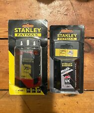 Stanley Carbide Blades 50 Pieces &100 Stanley Fatmax Pack