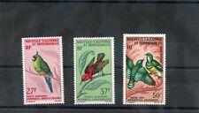 NEW CALEDONIA Sc C48-9A(YT A88-9,96)*VF LH 1966 BIRD SET $65