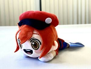 Cells at Work Anime Nesoberi Small Keychain Plush Toy Doll Red Blood Cell SG8627