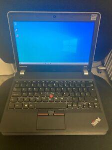 Lenovo Thinkpad Edge E145 AMD E1-2500 $GB RAM 120GB SSD Webcam HDMI Radeon 8200