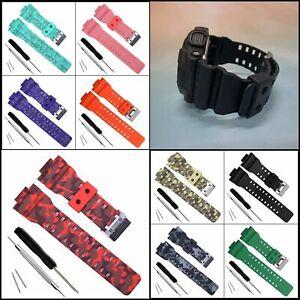 Natural Resin Watch Band Strap for Casio Men G-Shock GD120/GA-100/GA-110/GA-100C