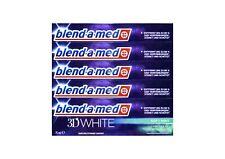 5x blend-a-med 3D WHITE 3 in1 Zahnpasta 75 ml Soft Mint