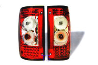RED LED BACK REAR TAIL LIGHT LAMPS FIT TOYOTA HILUX MK3 LN RN 1989 -1997