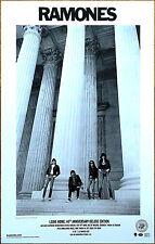 Ramones Leave Home: 40th Anniversary 2017 Ltd Ed Rare New Litho Poster Display!