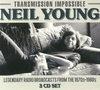 Neil Young : Transmission Impossible CD Box Set 3 discs (2018) ***NEW***