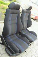 VW Golf 3 GTI Edition Recaro Sport Sitze VR6 Schwarz Blau sehr guter Zustand