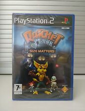 RATCHET & CLANK: SIZE MATTERS - PLAYSTATION 2 (PS2) - PAL - NEW Y-FOLD SEALED