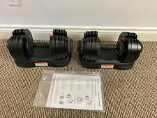 Pair Of Ativafit  71.5 lbs Adjustable Dumbbells