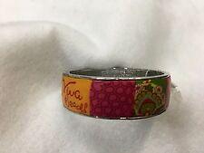 Viva Beads Clay Magnetic Bangle Bracelet - Strawberry Peach 49553