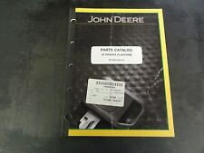 John Deere 78 Draper Platform Parts Catalog Pc1066
