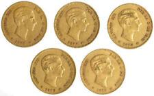 !! Rare - Espagne - Alfonso XII - 5 x 10 Pesetas Or - 1878 / 18-78 !!