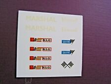 Really Useful Spares  Scalextric ws Sheet RUD35 Marshal Vanwall klg scalextric