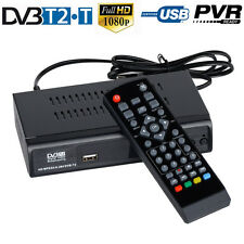 FTA HD Digital DVB-T2 T Terrestrial Convertor TV BOX Receiver EPG USB PVR