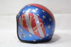 FXR FREEDOM MACHINE helmet XL red white blue w/ stars Harley FXRT FXRP EPS20124