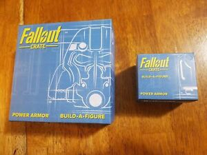 Loot Crate Fallout Build A Figure Armor Boxes 1&2 (Helmet with Stand and Torso)
