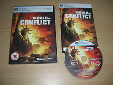 World in conflict PC DVD ROM RTS-livraison rapide