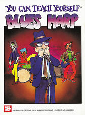 You Can Teach Yourself Blues Harp Harmonica Book + Dvd