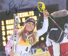 LINDSEY VONN SIGNED AUTOGRAPH 8x10 RP PHOTO OLYMPICS SKIING GOLD MEDALIST