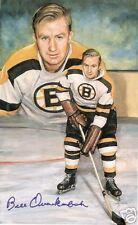 Bill Quackenbush Autographed Hockey Legends Card RARE!