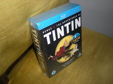 COFFRET BLU RAY THE ADVENTURES OF TINTIN - COMPLETE COLLECTION ON 5 DISCS