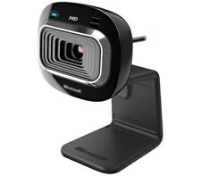 Microsoft LifeCam HD-3000 USB HD Webcam, 16:9 HD, Noise Reducing Mic, TrueColor