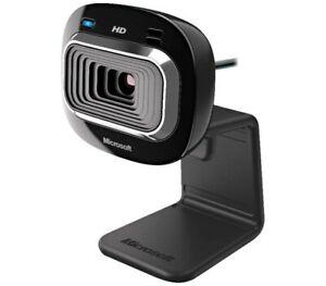 Microsoft LifeCam HD-3000 USB Webcam, 16:9 Widescreen HD, Noise Canceling Mic