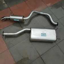 SSANGYONG REXTON  2.7 DT CENTRE & CHROME TIPPED REAR EXHAUST 06