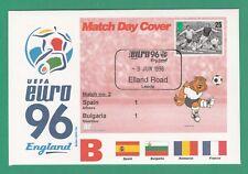 FOOTBALL  -   STAMP  COVER  ENVELOPE  FOR  EURO  96  -  MATCH  NO.  2  -  1996