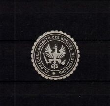 408261/ Siegelmarke – Kl. Preuss. Landrath des Kreises WESTERBURG