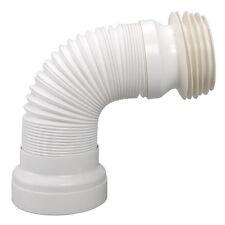 WC Anschlussrohr flexibel Toilettenanschluss ausziehbar 285-500 mm, DN 98-105mm
