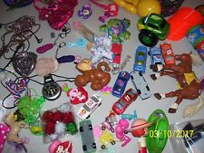 BOX FILLED WITH BOYS & GIRLS TOYS, STUFF, VARIETY MIX, CARS JEWELRY, FREE SHIP