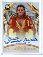 WWE Brutus Beefcake 2018 Topps Legends Authentic Autograph Card SN 133 of 199