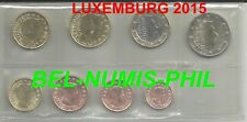 LUXEMBURG 2015 - 8 Munten/Monnaies uit de zak/sachet - UNC!!!