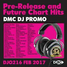 DMC DJ Only 216 Promo Chart Music Disc for DJ's Double CD Feb 2017