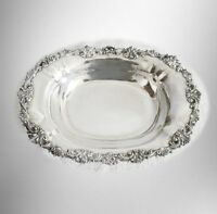 Bailey Banks Biddle sterling silver footed bread tray or bowl - FREE SHIPPING