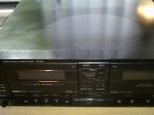 Technics Model No RS-X911 Stereo Cassette Deck