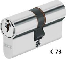 ABUS C73 N+G m.je 3 Schlüssel Profilzylinder Schließzylinder Doppel-o.Halb vs/gl