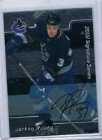 2001-02 BAP Signature Series #97 Jarkko Ruutu NM-MT Canucks