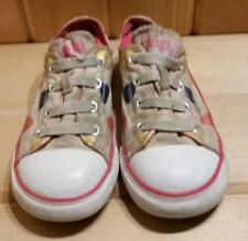 Toddler Girl's Converse All Star Shoes size 9 Sneakers Lo Tops