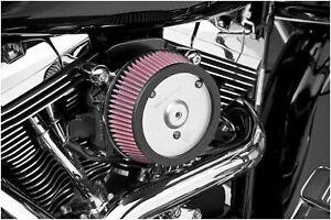 Ness 18-500 Big Sucker Air Filter Kit Plain Backing Plate - Red Filter