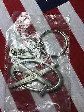 Rare USAF Predator Drone Pewter Tone Key Chain Mint in Original Sealed Issue Bag