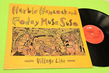 HERBIE HANCOCK LP FODAY MUSA SUSO HOLLAND MINT MAI SUONATO 1985 UNPLAYED !!!!!!!