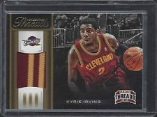 KYRIE IRVING 2012-13 PANINI THREADS AUTHENTIC THREADS 2 CLR ROOKIE PATCH RC /25